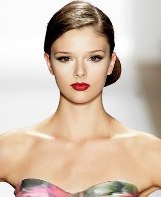 Hairstyle, Sleek Hairstyle, Bun, Side Part