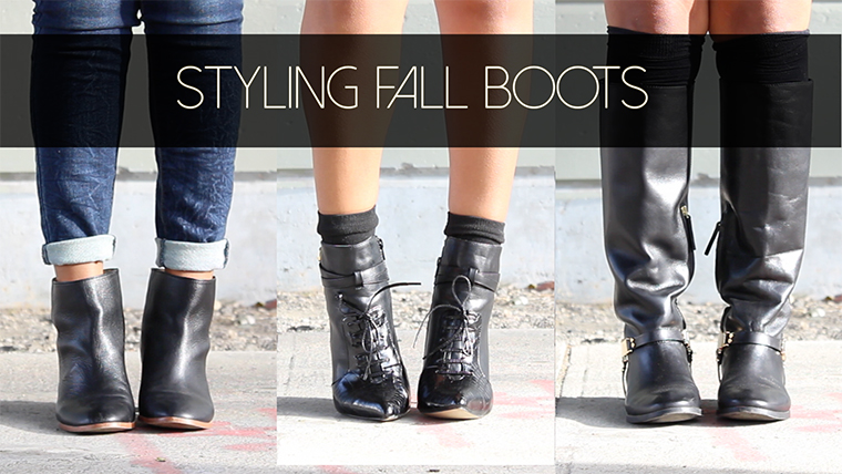 Styling Fall Boots